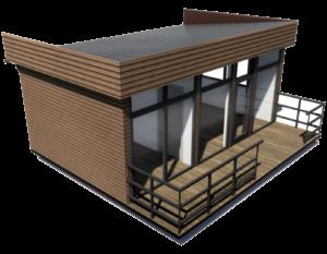 Модульный дом 26 м2
